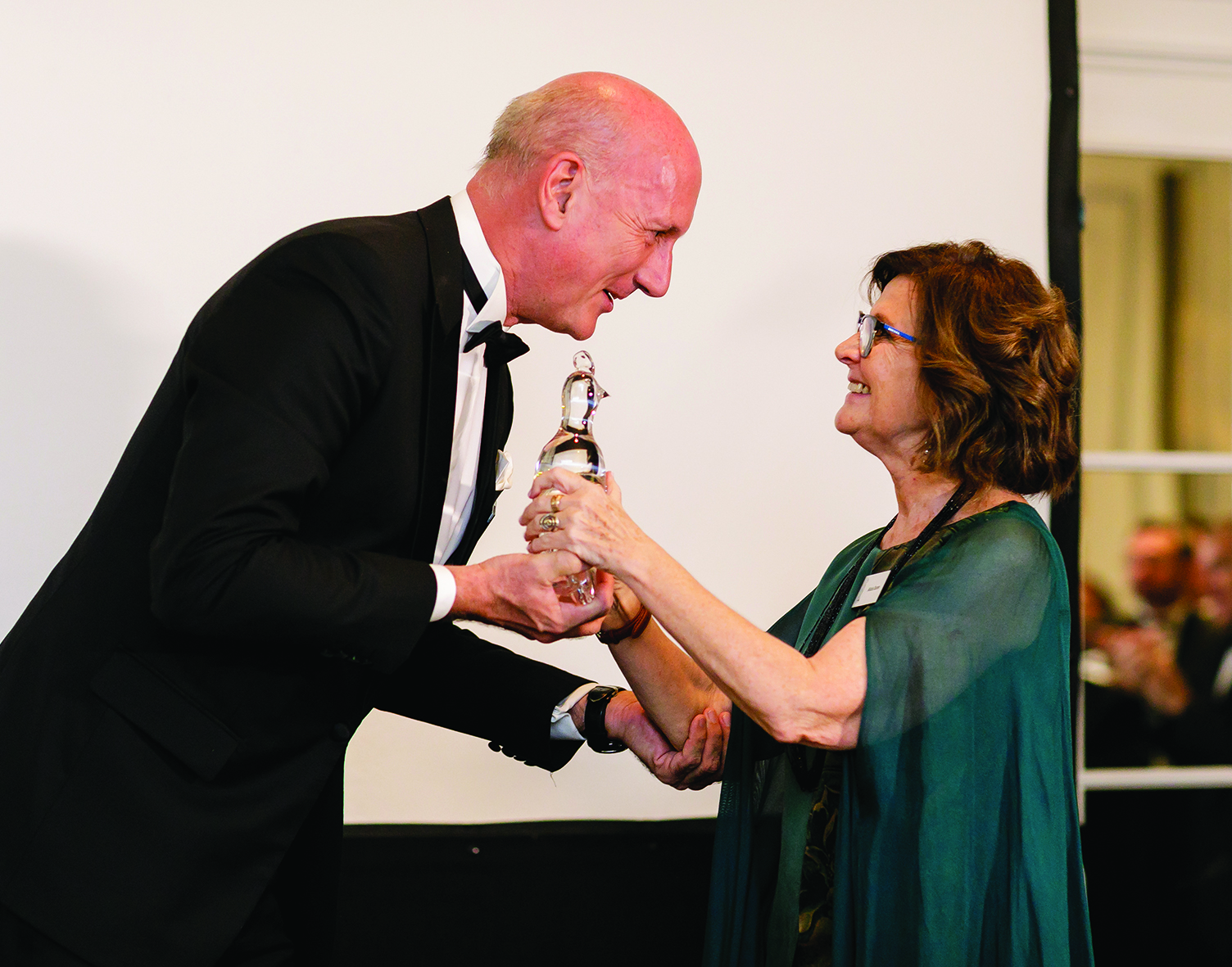 A passion for glass celebrated at Madrid Phoenix Award ceremony