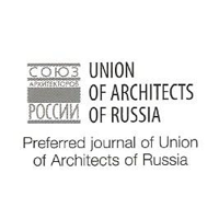 Preferred journal for THE UNION OF ARCHITECTS OF RUSSIA