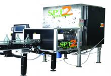 Automated volume measurement system for the shop floor