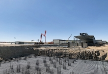 Construction underway for Uzbekistan's first float project