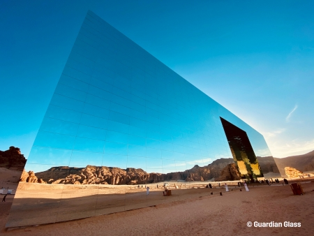 World's largest mirror-clad building in Saudi Arabia
