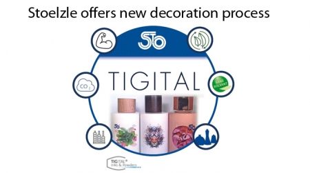 Decoration innovation for perfumery and cosmetics