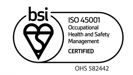ISO 45001 accreditation achieved