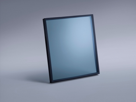 HT coated glass with strong performance