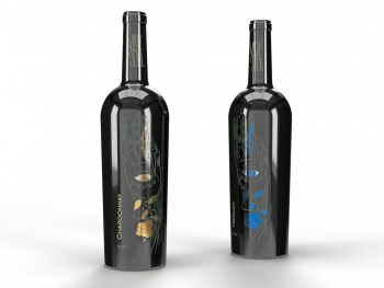 Isimat offers inLINE FOILING for tapered bottles