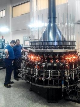 Ampoule forming equipment innovation