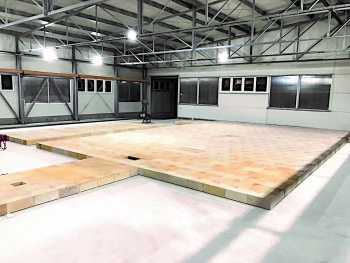 New state-of-the-art pre-assembly area at RATH Budapest