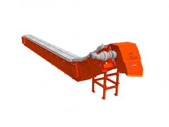 Latest generation scraping conveyor