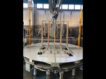 Schiatti Angelo supports 4.0 automation with rotating trolley