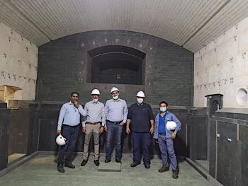 SORG rebuilds AFICO furnace during pandemic