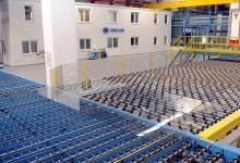 Diversified international glassmaker records strong performance