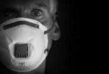 Non-woven media produced for face masks